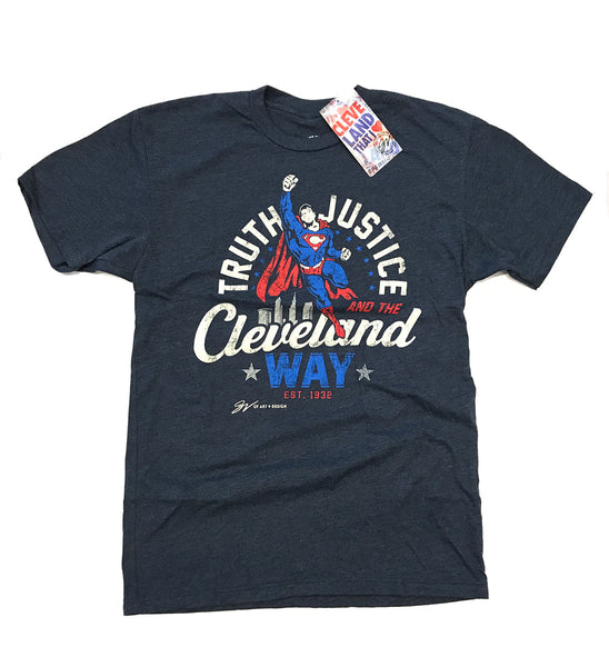 Truth, Justice and The Cleveland Way T shirt