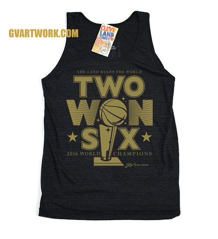 2016 Champions Tank Top - Two WON Six