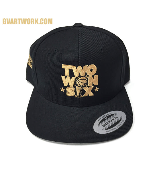Two WON Six 2016 World Champions Snap Back Hat