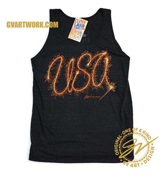 USA Sparkler Tank Top