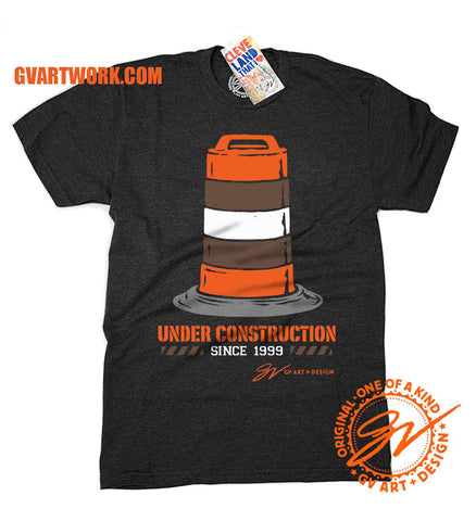 Cleveland Football Under Construction Since '99 Shirt