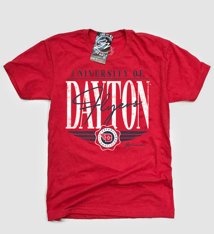 Dayton Flyers Overlap Type T shirt