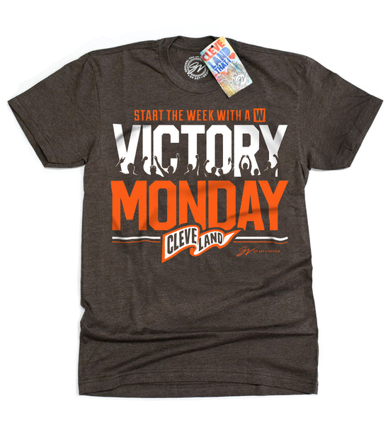 Official Victory Monday T shirt