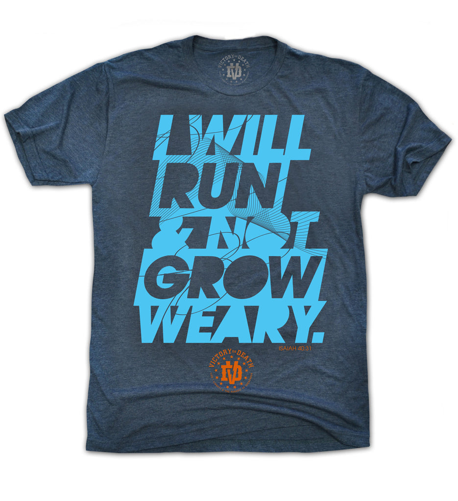 i will run and not grow weary gv art and design