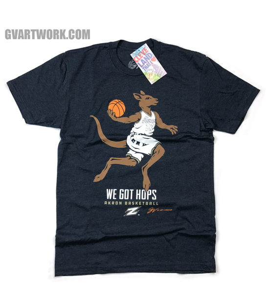 Akron Zips We Got Hops T shirt