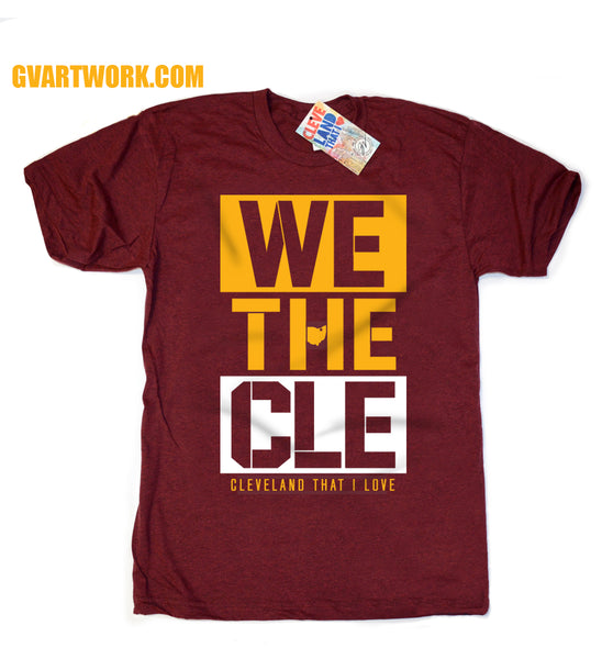 We The CLE T shirt