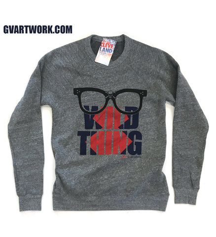 Rick Vaughn Wild Thing Crew Sweatshirt