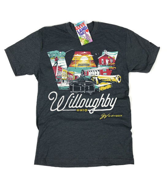 Willoughby Ohio T shirt