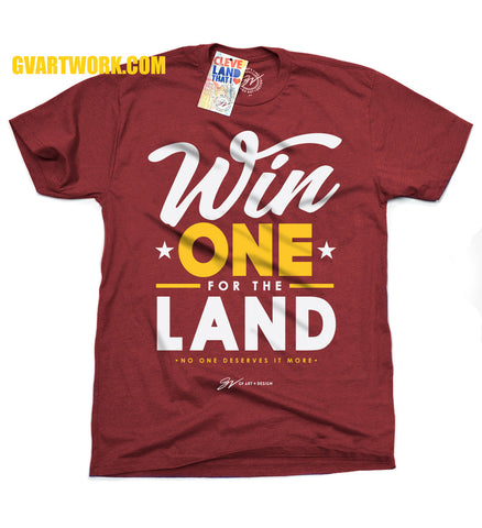 WIN one for the LAND T shirt