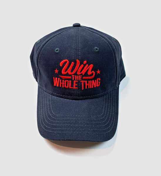 Win The Whole Thing Dad Hat - Navy