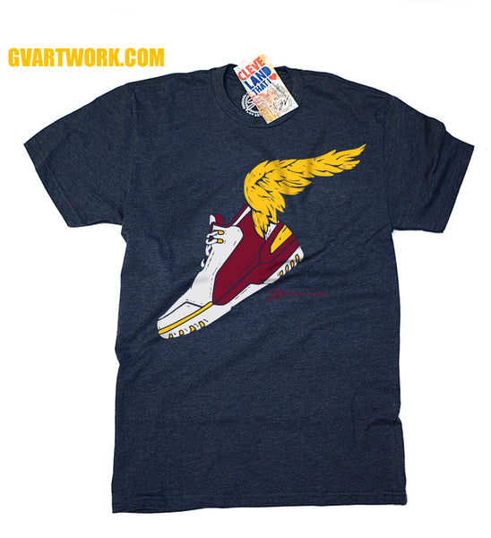 Limited Edition Winged Shoe T shirt