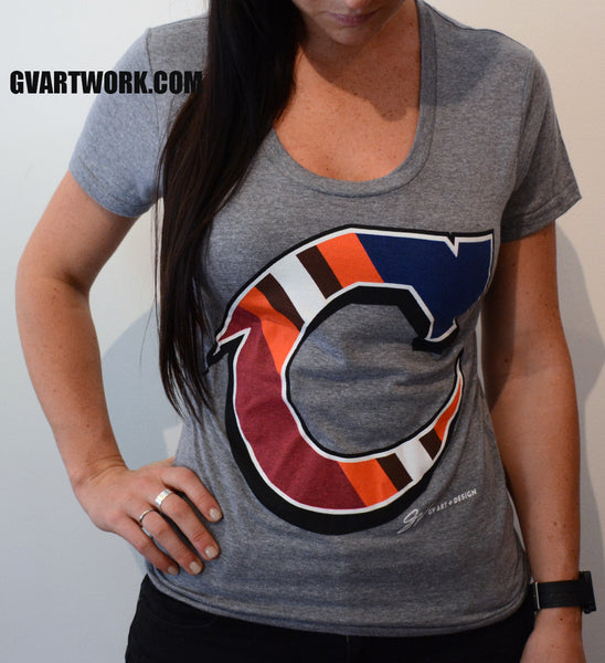 Womens Team Cleveland C Shirt
