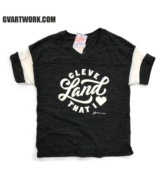 Womens Cleveland That I Love Relaxed Fit Tee