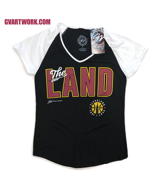 "Womens Two Tone ""The Land"" Shirt"