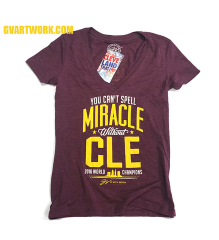 Womens 2016 MiraCLE shirt - World Champions