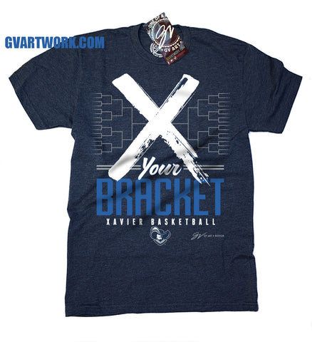 X Your Bracket Xavier Basketball March Madness T shirt