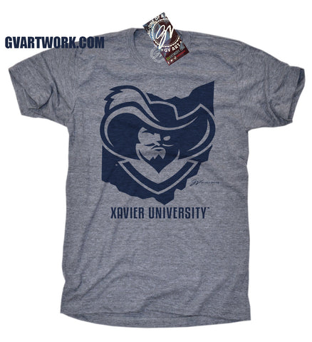 "Xavier University ""Ohio Musketeer"" shirt"