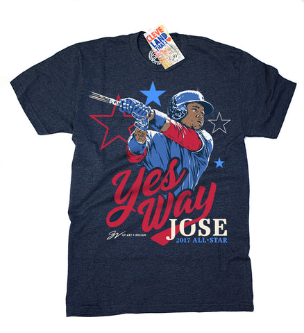 Yes Way Jose Special All Star Limited Edition T shirt