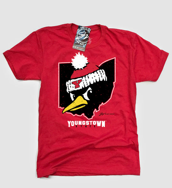 Youngstown State Ohio Penguin T shirt