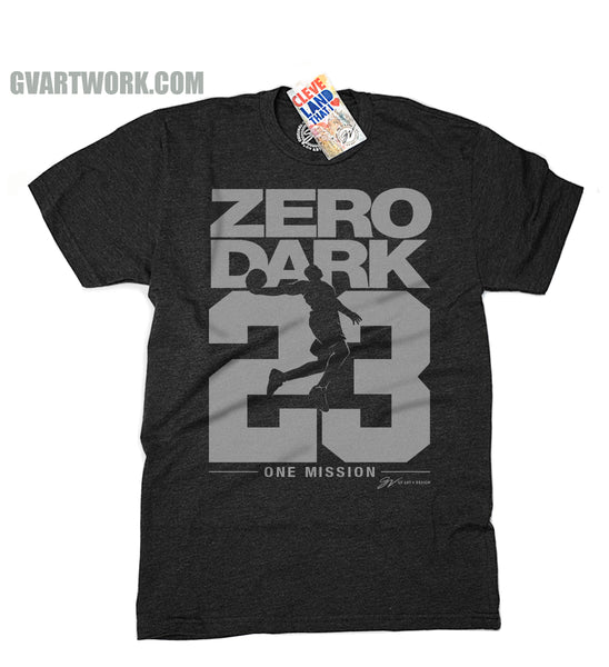 Zero Dark 23 Playoff Mode T shirt