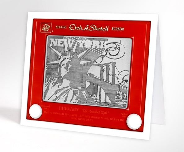 New York Skyline - Greeting Cards