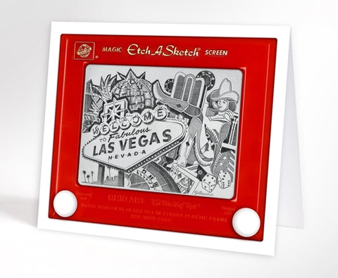 Las Vegas Skyline - Greeting Cards