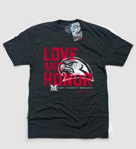 Miami Love & Honor T shirt