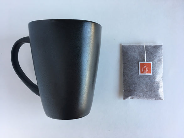 Java For One. Single serve coffee bags as easy to brew as tea.