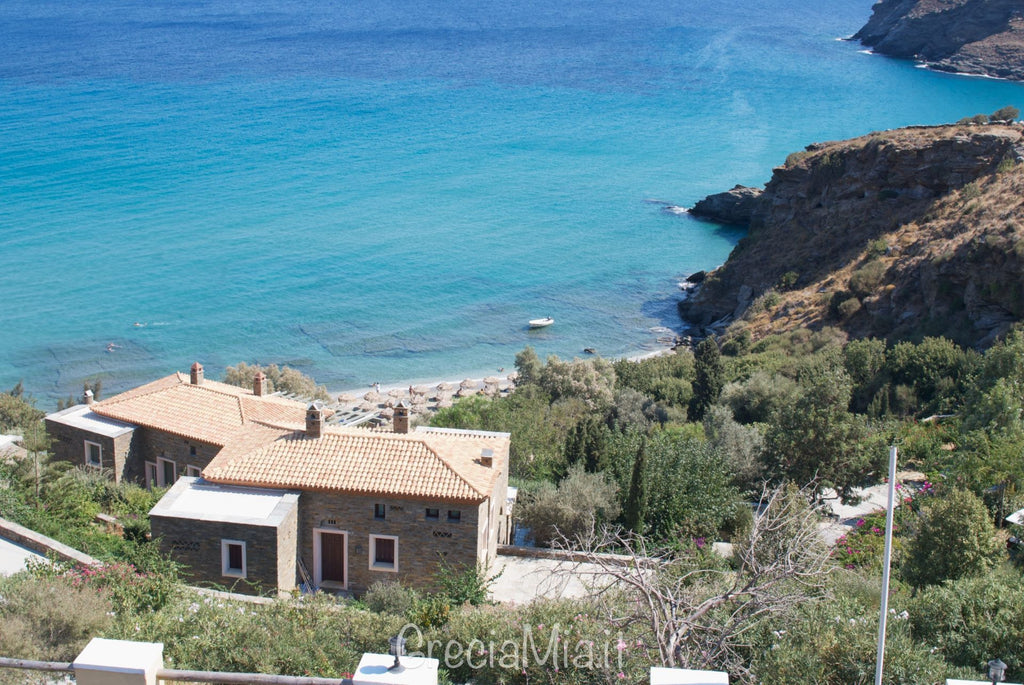 spiagge attrezzate Andros