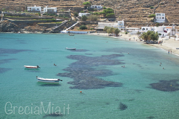 spiagge consigliate a Kythnos