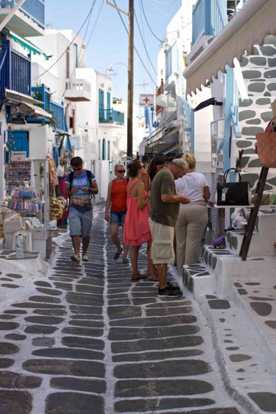 dove fare shopping a Mykonos