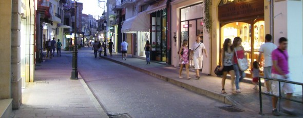 shopping Rethymno Creta