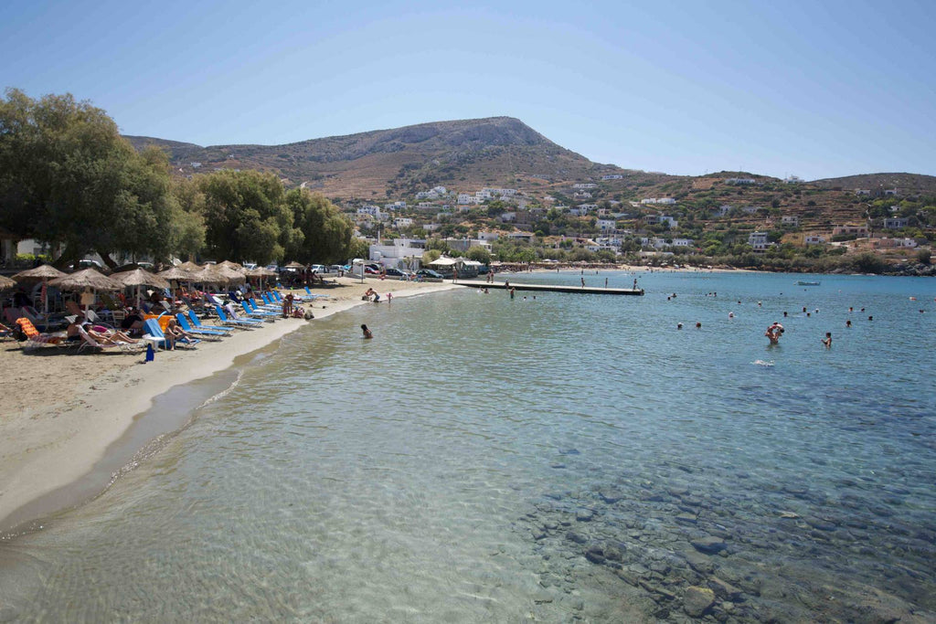 spiagge attrezzate a Syros