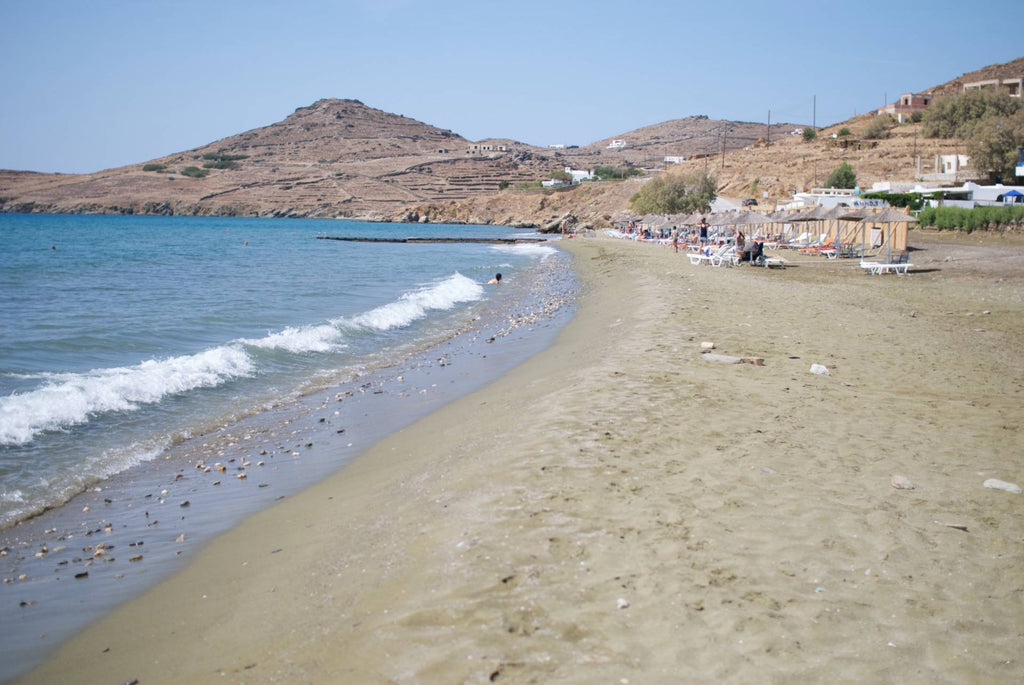 spiagge attrezzate a Tinos
