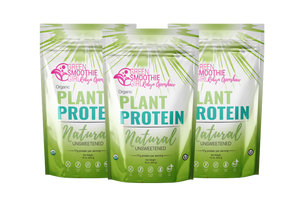 Plant Protein - Natural - 3 pack GB