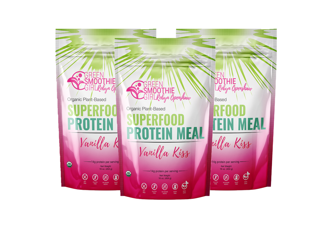 Superfood Protein - Vanilla - 3 pack GB