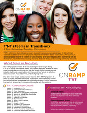 Teens In Transition (T'NT) A Post-Secondary Transition Curriculum