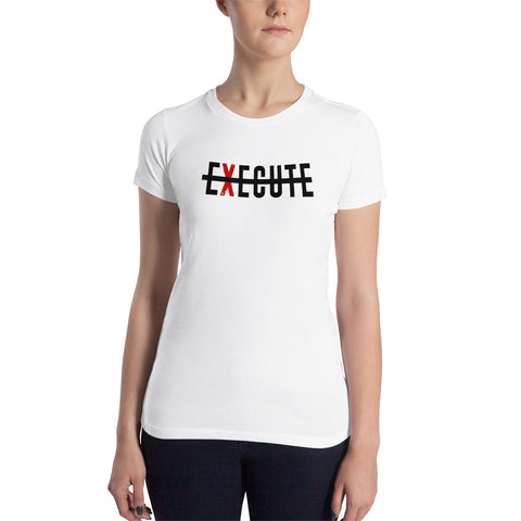 Execute Women's Slim Fit T-Shirt