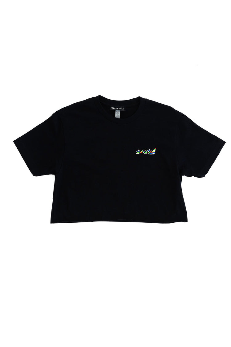 "BLACK ""OG"" CROP TOP"