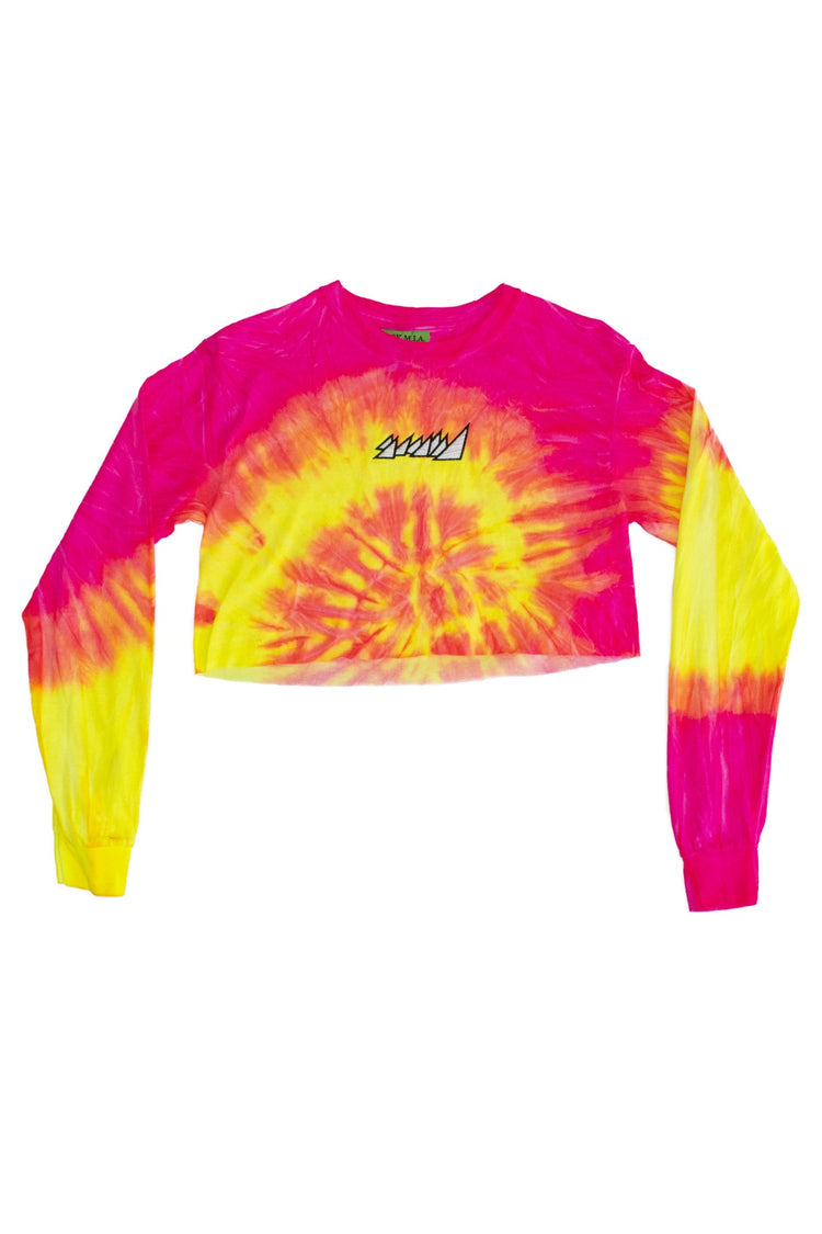 SUNSHINE CROP TOP L/S SHIRT