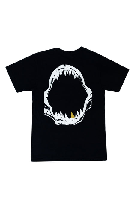 """GOLD TOOTH"" BLACK T-SHIRT"