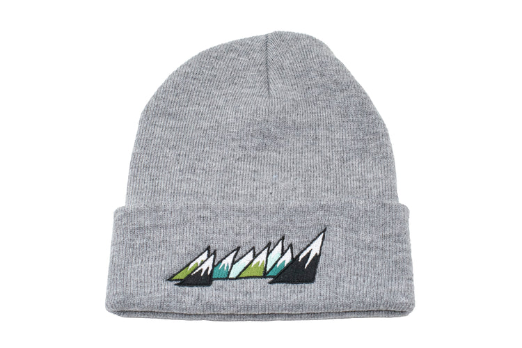 HEATHER GREY BEANIE