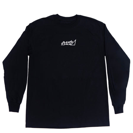 "BLACK ""MIAMI WAVE"" LONG SLEEVE SHIRT"
