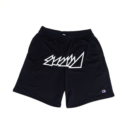 "BLACK ""CHAMPION"" SHORTS"