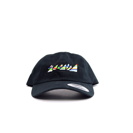 "BLACK ""DAD"" HAT"