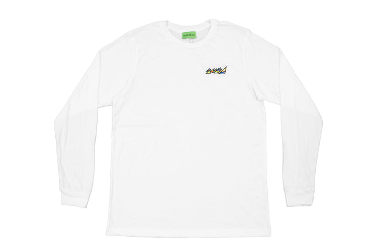 WHITE OG LONG SLEEVE