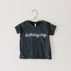 Birthday Boy Bamboo Shirt