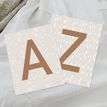 Alphabet Prints. Showcase baby's name with these adorable prints.