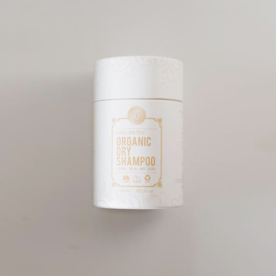 organic dry shampoo powder - travel size