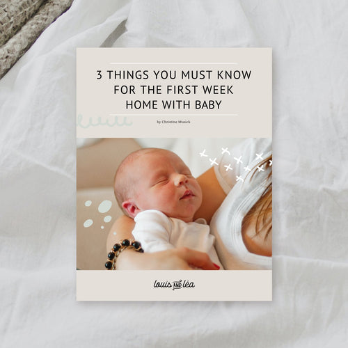 3 things you must know for the first week home with baby.